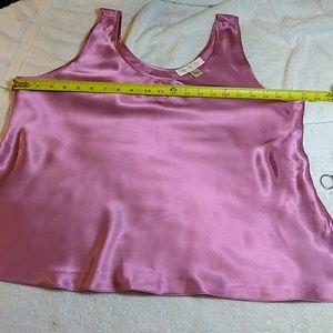 Oscar de la Renta pink label sleep shirt